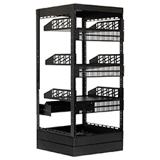 Strong™ Custom Series Rack Package - 20' Depth | 21U