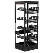 Strong™ Custom Series Rack Package - 24' Depth | 27U