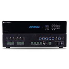 Atlona® 4K Ultra HD HDMI to HDBaseT Matrix Switcher with PoE | 6x6