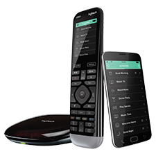 Logitech® Harmony Pro Advanced Remote, Hub and App