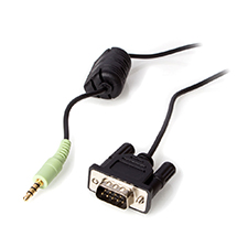 URC® RS232 Cable with Male DB-9