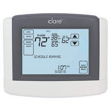 Clare Controls Wi-Fi Touchscreen Thermostat