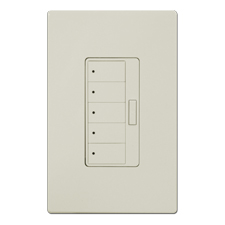 ClareVue 5-Scene Keypad Light Almond