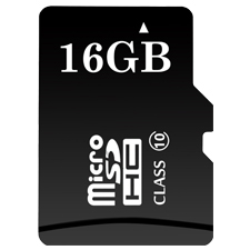 ClareVision Plus 16GB Micro SD Card