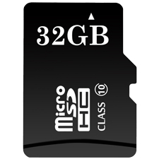 ClareVision Plus 32GB Micro SD Card