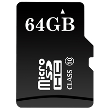ClareVision Plus 64GB Micro SD Card