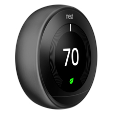 Nest Learning Thermostat - 3rd Gen | Carbon Black