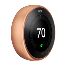 Nest Learning Thermostat - 3rd Gen | Copper
