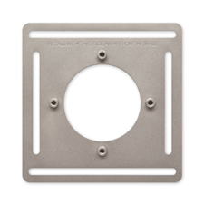 Nest E Thermostat Steel Mounting Plate - 4 Pack