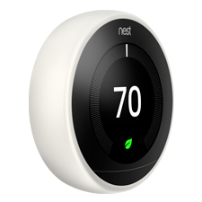 Nest Learning Thermostat - 3rd Gen | White