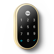 Nest x Yale Lock w/ Nest Connect - Brass