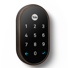 Nest x Yale Lock w/ Nest Connect - Bronze