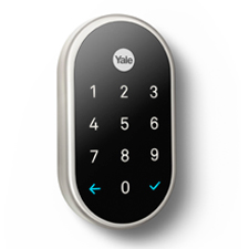 Nest x Yale Lock w/ Nest Connect - Nickel