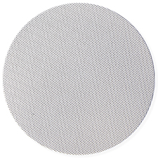Episode® Impression Bezel-Less Round Grille (Each) - 5' | White