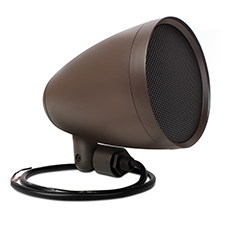 Episode® Landscape Series Satellite Speaker with 6' Woofer (Each) - Dark Brown