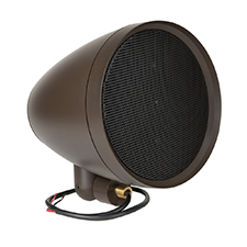 Episode® Landscape Series Satellite Speaker with 8' Woofer (Each) - Dark Brown