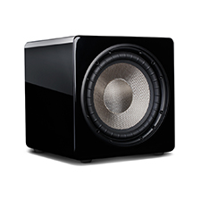 Episode® Evolution Series 10' Sealed Subwoofer with 480W Amplifier - Gloss Black