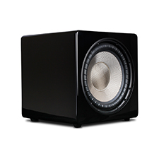 Episode® Evolution Series 12' Sealed Subwoofer with 720W Amplifier - Gloss Black