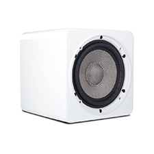 Episode® Evolution Series 6' Sealed Subwoofer with 240W Amplifier - Gloss White