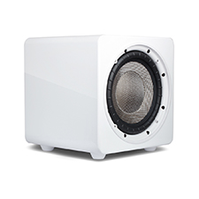 Episode® Evolution Series 8' Sealed Subwoofer with 260W Amplifier - Gloss White