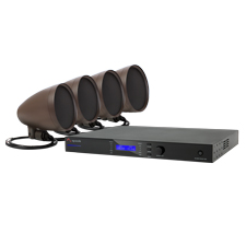 Episode® Landscape Series Speaker Kit with 4 - 4' Satellite Speakers and 1000 Watt Amplifier