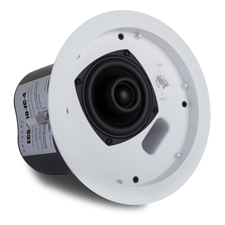 Episode® 650 Series In-Ceiling 70-Volt Speaker with Tile Bridge & 4' Woofer