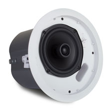 Episode® 650 Series In-Ceiling 70-Volt Speaker with Tile Bridge & 6' Woofer
