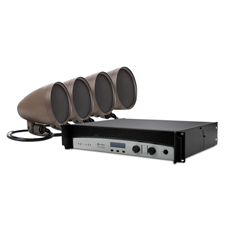 Episode® Landscape Series Speaker Kit with 4 - 6' Satellite Speakers and 1000 Watt Crown® Amplifier