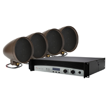 Episode® Landscape Series Speaker Kit with 4 - 8' Satellite Speakers and 2000 Watt Crown® Amplifier