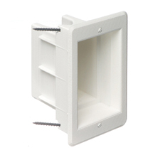 Arlington™ Single Gang Recessed Electrical Box