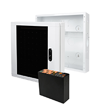 Image for Wirepath ONE™ Enclosure and Door With IP-Enabled WattBox® Compact Power Conditioner Kit - 14