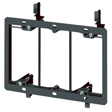 Arlington™ Triple Gang Low-Voltage Mounting Bracket for Retrofit (Box of 5)