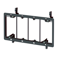 Arlington™ 4-Gang Low-Voltage Mounting Bracket for Retrofit (Box of 5)