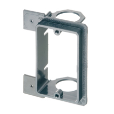 Arlington™ Single Gang Low-Voltage Mounting Bracket for New Construction - Box of 10