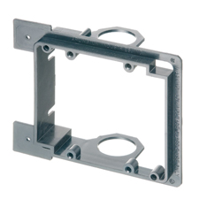 Arlington™ Double Gang Low-Voltage Mounting Bracket for New Construction - Box of 5