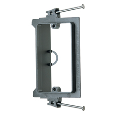 Arlington™ Single Gang Nail-On Low-Voltage Mounting Bracket for New Construction - Box of 50