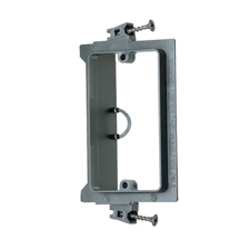 Arlington™ Single Gang Screw-On Low-Voltage Mounting Bracket for New Construction - Box of 50