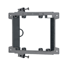 Arlington™ Double Gang Screw-On Low-Voltage Mounting Bracket for New Construction - Box of 25