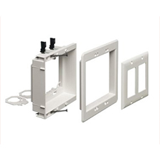 Arlington™ Recessed Double Gang Low-Voltage Mounting Bracket