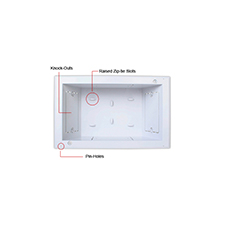 Strong™ In-Wall Recessed Low-Voltage Box