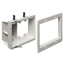 Arlington™ Recessed Triple Gang Electrical and Low-Voltage