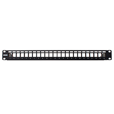Wirepath™ Rack Mount 24-port Blank Patch Panel