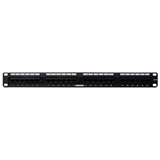 Wirepath™ Rack Mount 24-port RJ45 Cat 5e Patch Panel