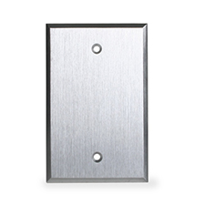 Wirepath™ Aluminum Single Blank Plate