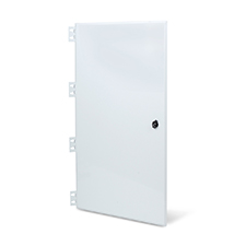 Wirepath™ Enclosure Hinged Metal Door - 28''