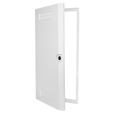 Wirepath™ Plastic Door + Trim Kit - 30' -1 pack