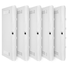 Wirepath™ Plastic Door + Trim Kit - 30' - 5 pack
