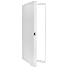Wirepath™ Plastic Door + Trim Ring - 42' - 1 pack