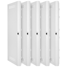 Wirepath™ Plastic Door + Trim Ring - 42' - 5 pack
