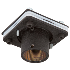 SunBrite® Outdoor Ceiling Mount Swivel Adaptor (Black)